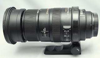 Jual lensa Sigma 50-500mm Bekas