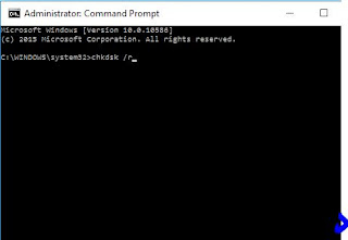 chkdsk command