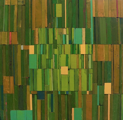 """Narrow Fellow in the Grass"", Rebecca Klundt. 