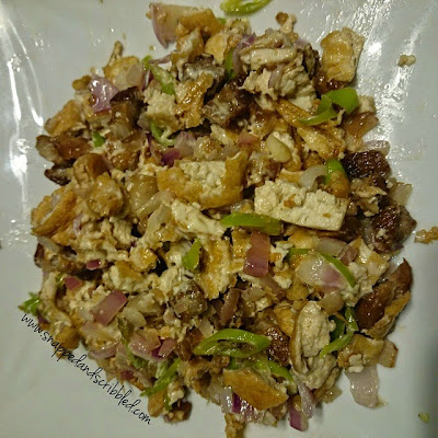 Tofu Sisig Recipe