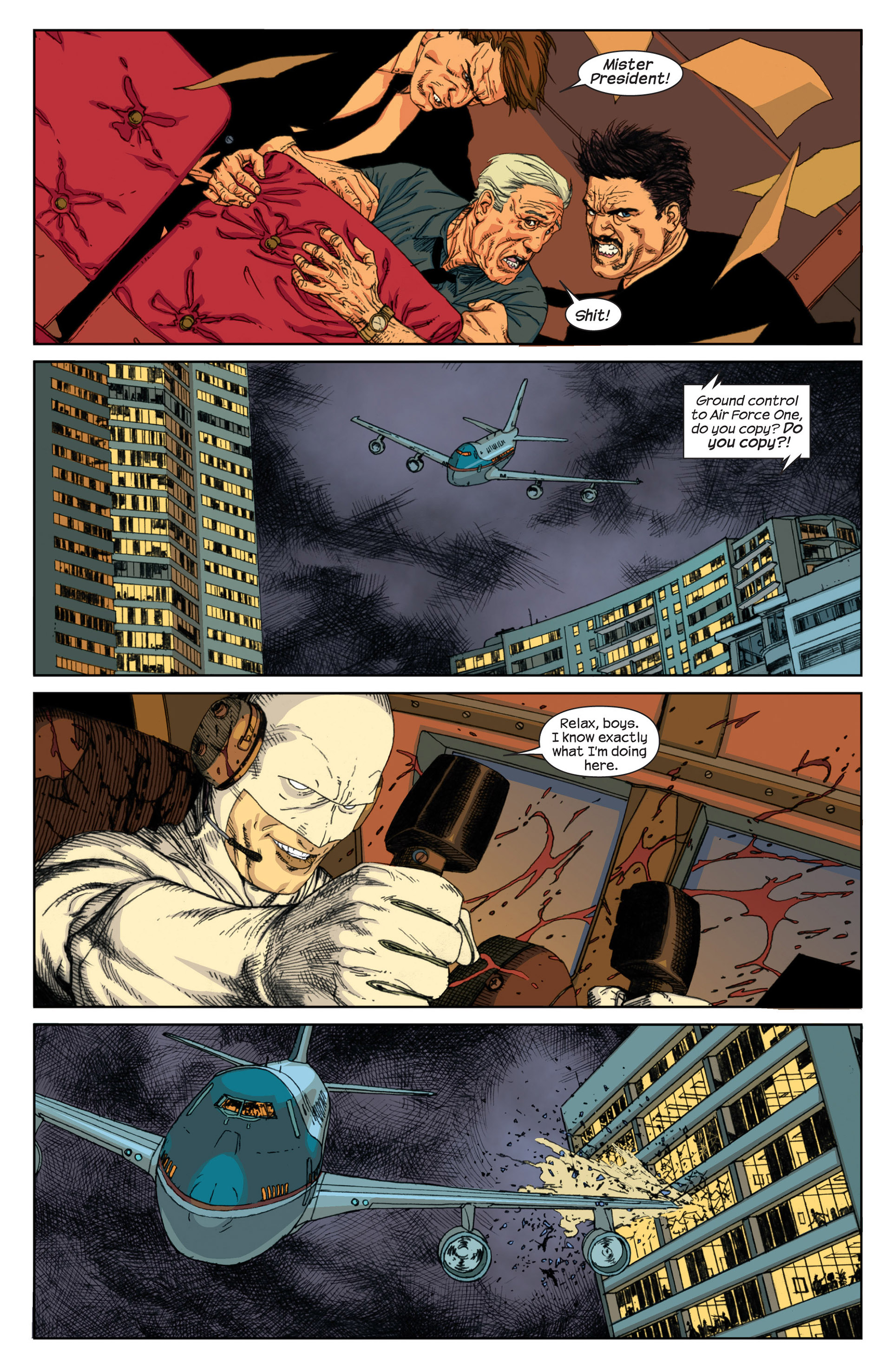 Read online Millar & McNiven's Nemesis comic -  Issue #1 - 21