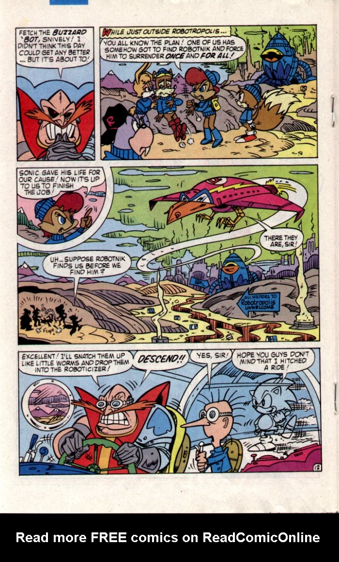 Read online Sonic The Hedgehog comic -  Issue #20 - 14