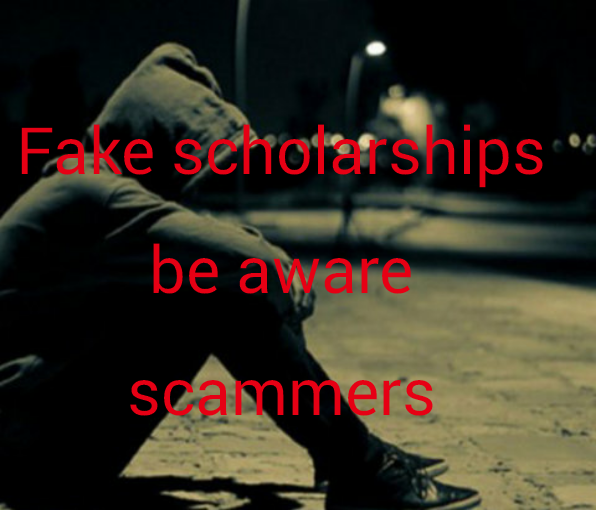 Scholarships scammers