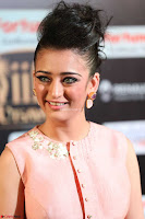 Akshara Haasan in Peachy Crop Top Choli Skirt at IIFA Utsavam Awards 55.JPG