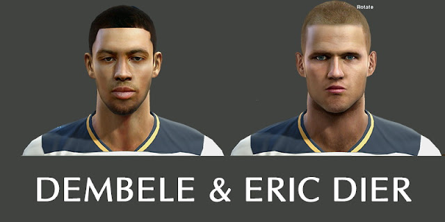 Dembele and Eric Dier