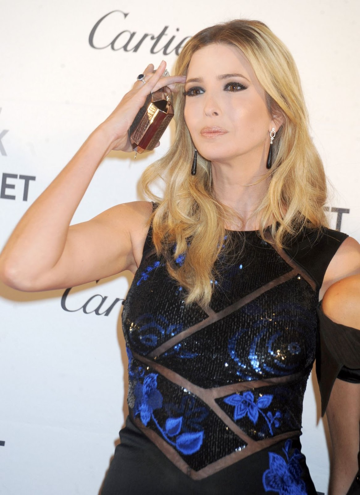 NYCB HQ Photos: Ivanka Trump at 2015 New York City Ballet Fall Gala in New York