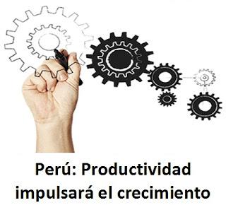 Perú: Productividad impulsará el crecimiento