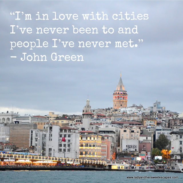 Travel Quote by John Green