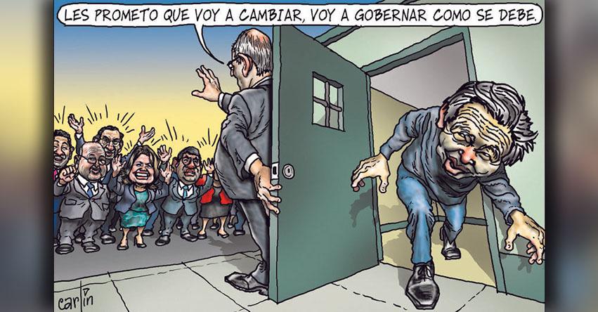 Carlincaturas Domingo 24 Diciembre 2017 - La República