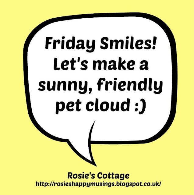 Friday smiles lets make a pet cloud
