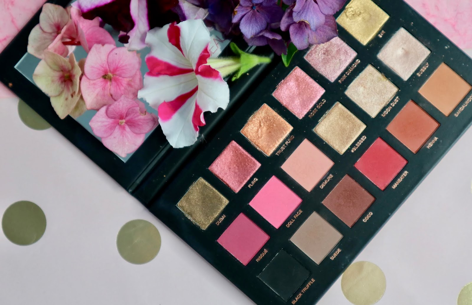 Huda Beauty Drops the Rose Gold Remastered Eyeshadow Palette