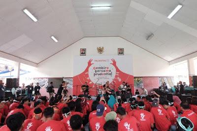 Anak Didik Lapas Anak Pria Tangerang, Gembira Bersama Prudential Indonesia.