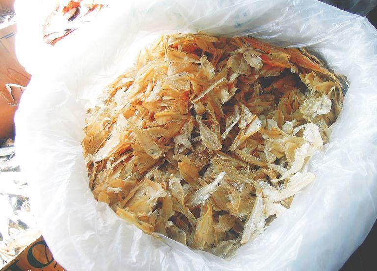 Biniklad na dilis pasalubong from Baler
