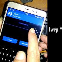 Cara Mudah Mengatasi TWRP minta Password