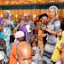 Zahra Buhari Dancing during the New Year children's party at the Villa