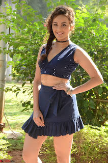 Seerat Kapoor Stunning Cute Beauty in Mini Skirt  Polka Dop Choli Top ~  Exclusive Galleries 013.jpg