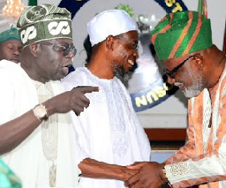 Ondo Election: Tinubu, Aregbesola Meet Behind Colsed-door Over Akeredolu