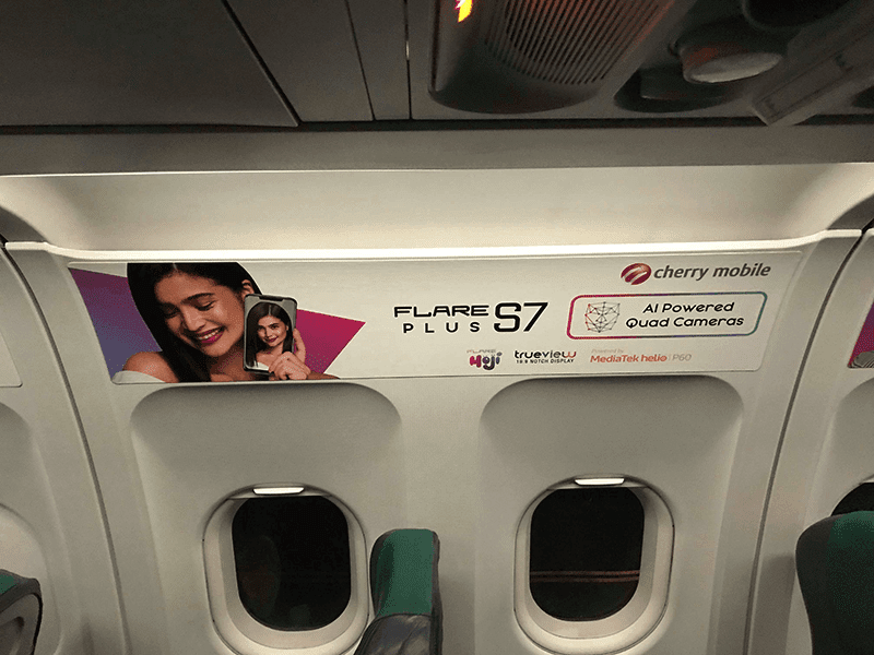 Cherry Mobile partners with Cebu Pacific to market the Flare S7 series