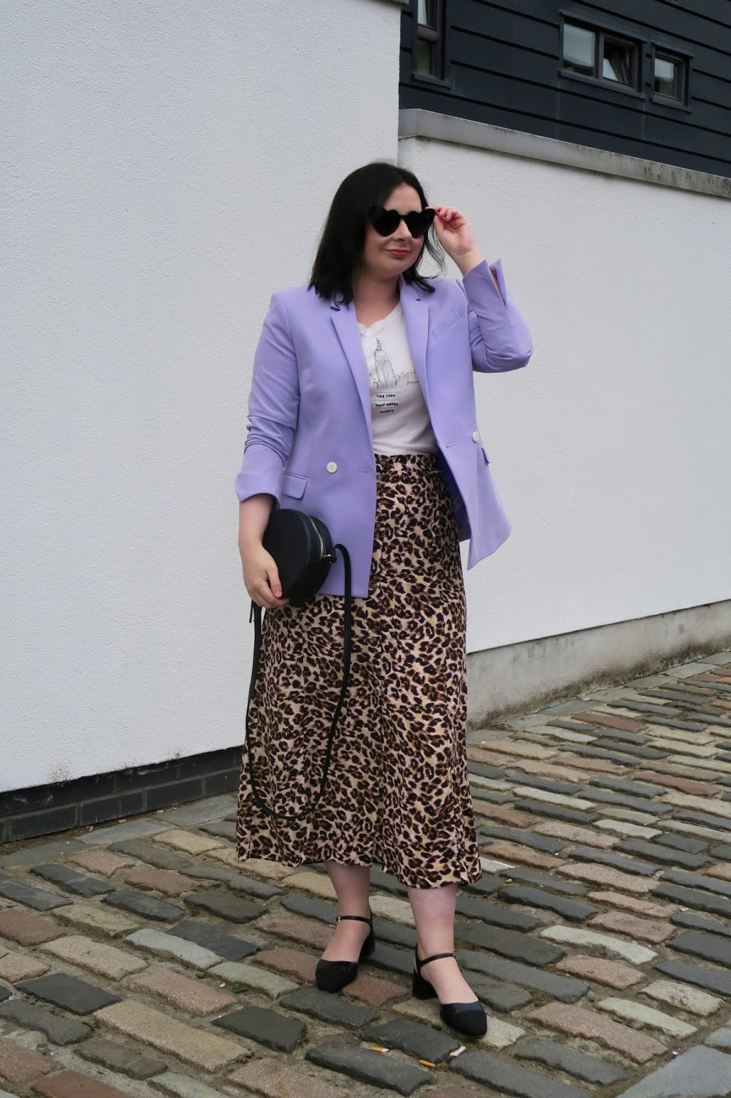 How to wear leopard print- leopard midi skirt