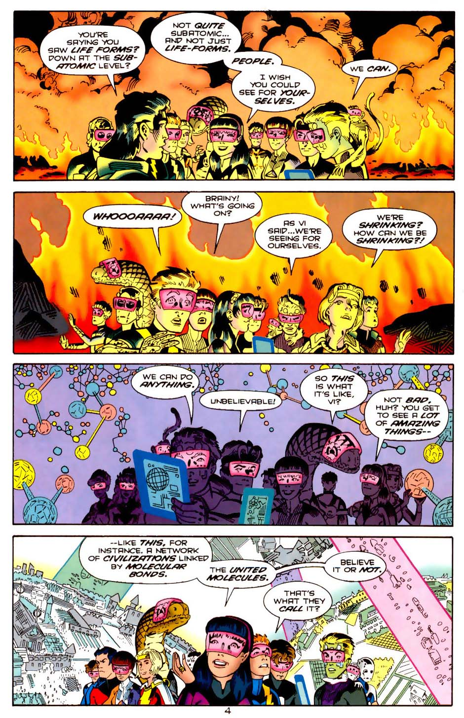 Legion of Super-Heroes (1989) 113 Page 3