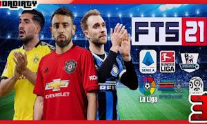 تحميل لعبة FTS 2021 للاندرويد مهكرة  من ميديا فاير / FTS 21
