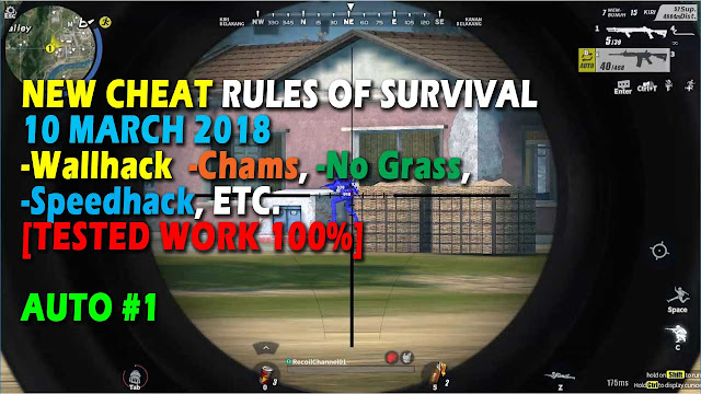 Cheat Rules of Survival 5.0 Update 10 maret 2018 !