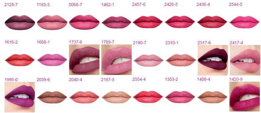 lipstick, ruž, ruževi, swatch, makeup, make-up, šminka, sminka