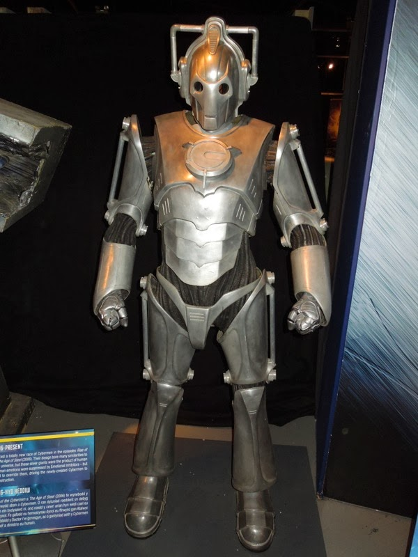 Cyberman design Doctor Who 2006 - 2012
