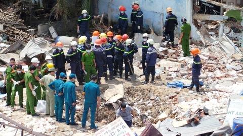 Vụ nổ với thiệt hại khủng khiếp ở Q.12 đang còn trong giai đoạn điều tra