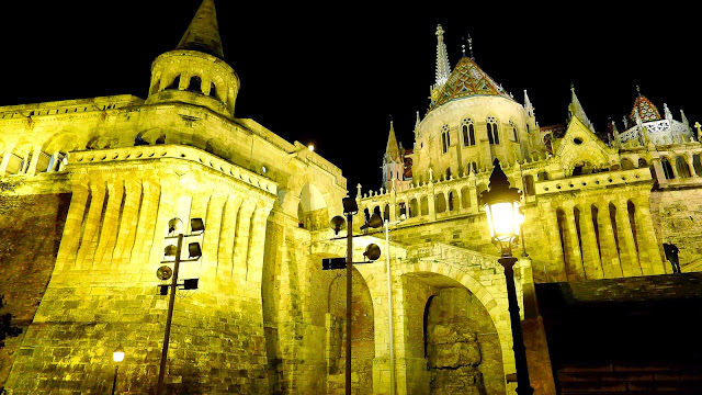 Fisherman's Bastion at Night