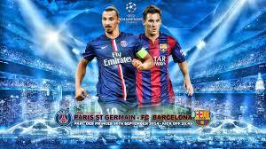 football games of UEFA Champions League  Paris Saint-Germain vs FC Barcelona Tuesday 14-02-2017 مبارات القمة بين باريس سانجرمان ضد برشلونة رابطة ابطال اورويبا لقاء العمالقة على المباشر