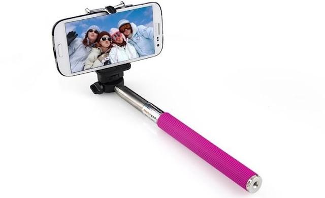 Pau de selfie para celular e GoPro