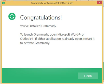 grammarly for word windows users