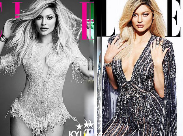 Kylie Jenner: twice more sexy in one of ELLE Canada!