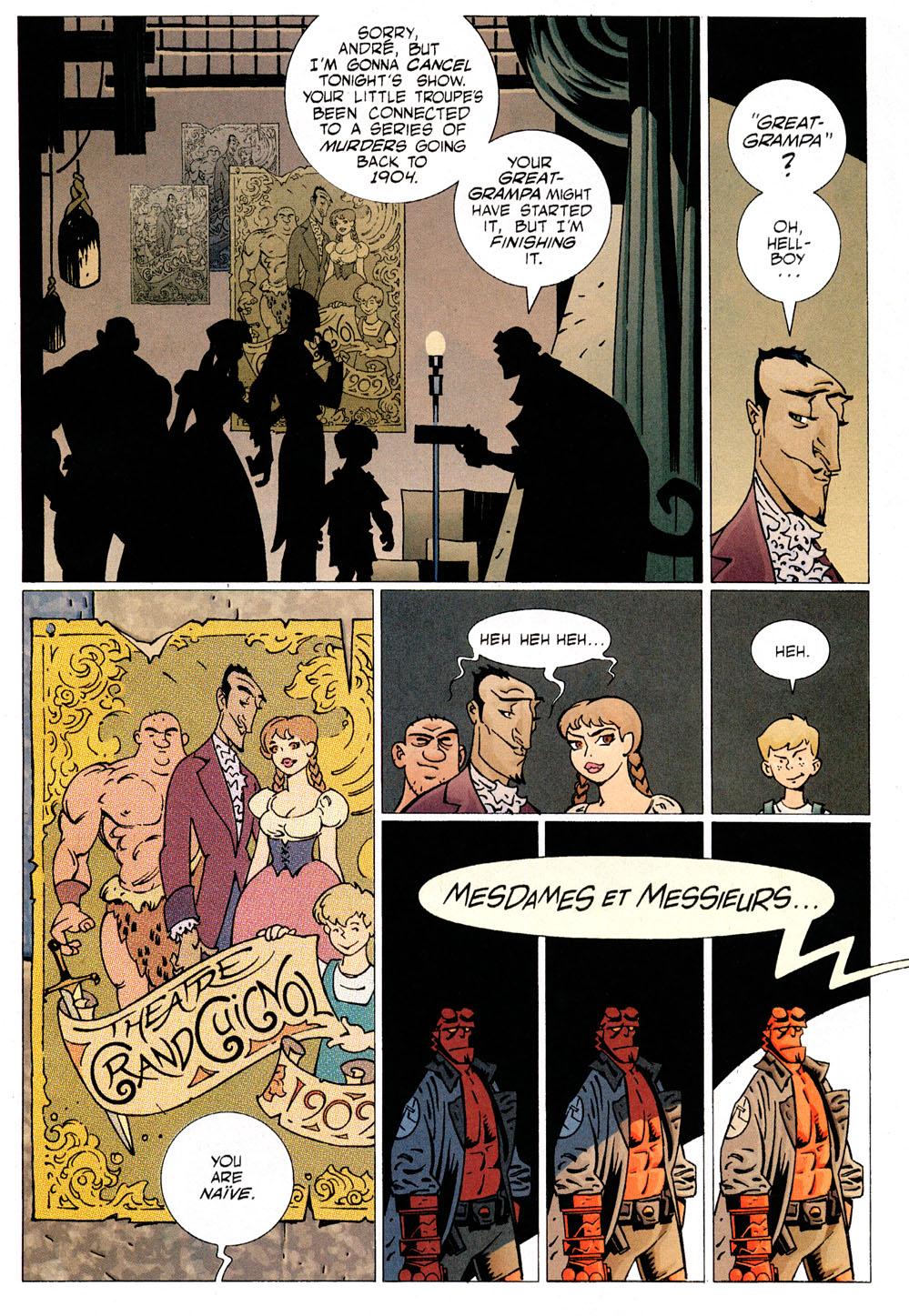 Read online Hellboy: Weird Tales comic -  Issue #6 - 5