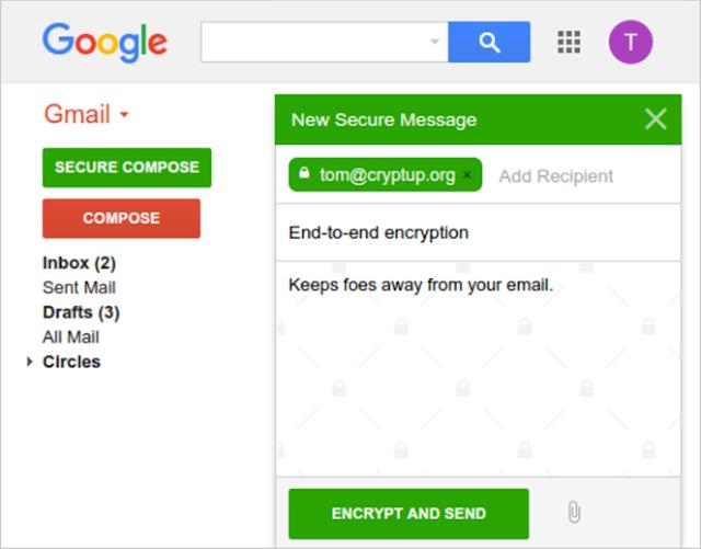 Bagaimana Cara Mengenkrispsi Email Gmail Agar Lebih Aman