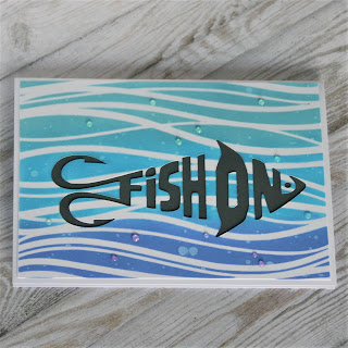 Fish on card
