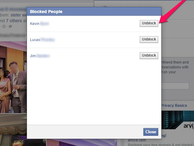 View Your Blocked List On Facebook | See List of Blocked Facebook Friends | Unblock Facebook Friend