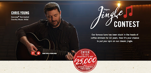 Enter the Folgers Jingle Contest for a Chance to Win $25,000!