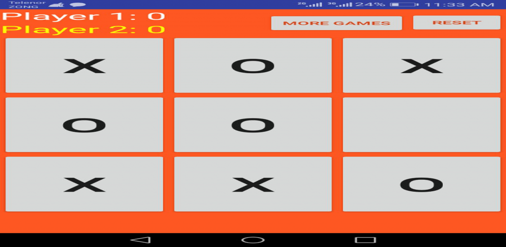New Android Apps Tic Tac Toe Game - Unique Android App Update