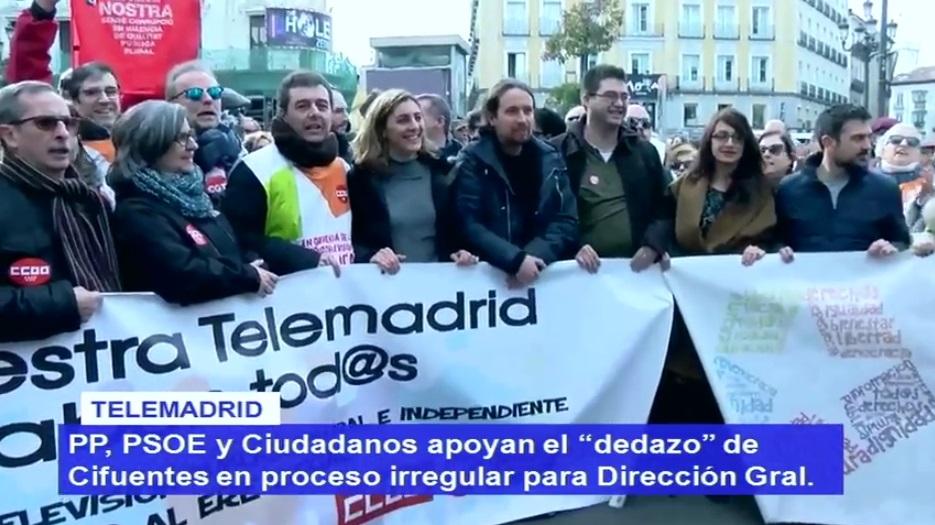 Directo: Manifestación del 4º aniversario del ERE <i>