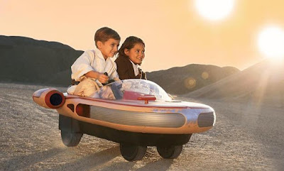 Starwars Luke Skywalker Landspeeder