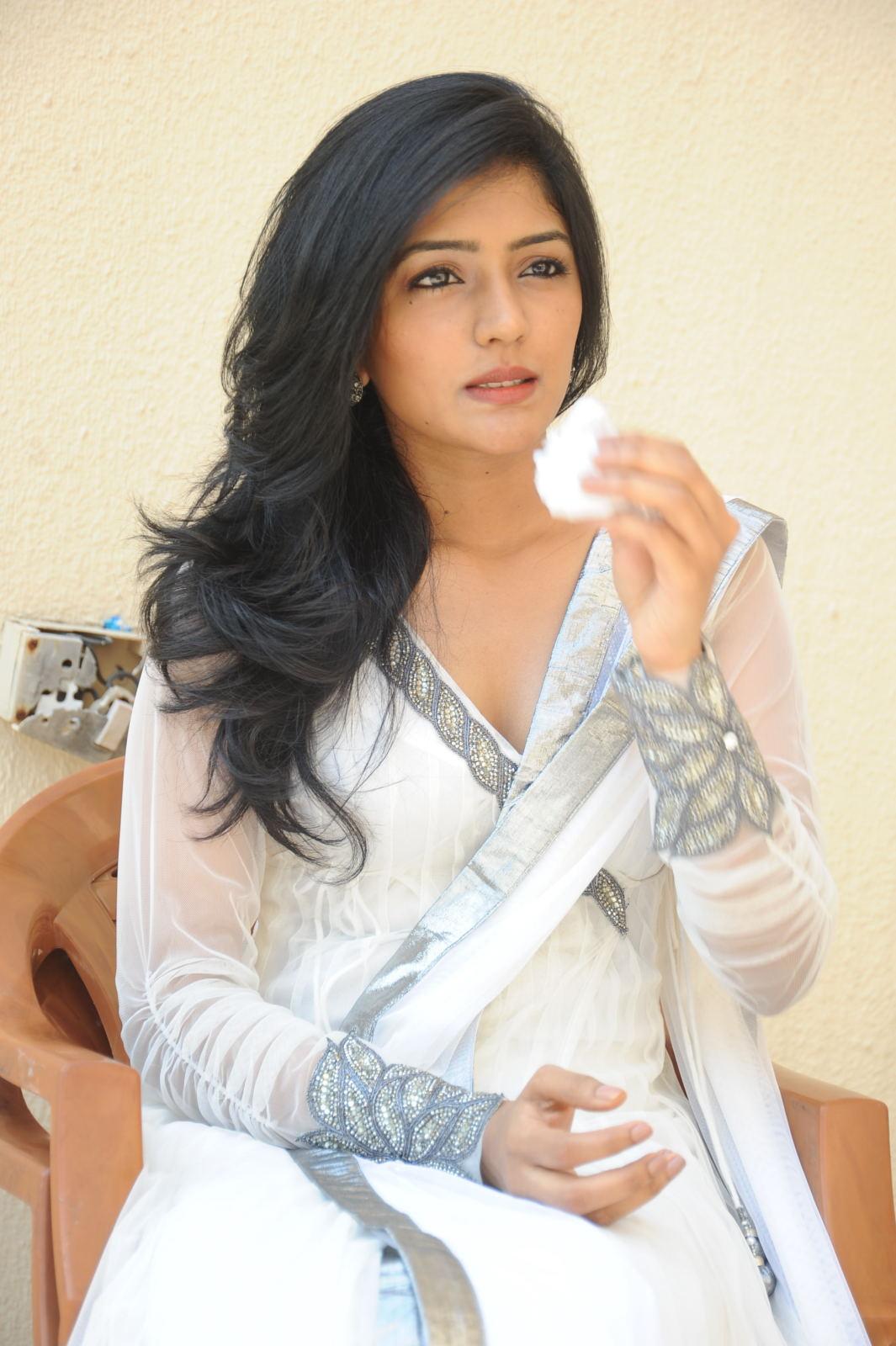 Actress Eesha Latest Photos In White Dress