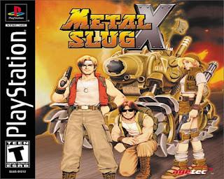 Metal Slug X Cover(Capa)
