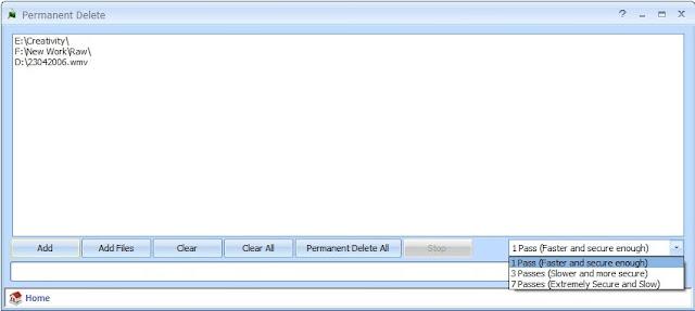 δωρεάν εφαρμογή οριστικής διαγραφής αρχείων και φακέλων