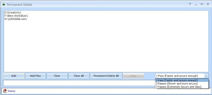 Permanent Delete 1.2 - Μετά από αυτό, δεν υπάρχει γυρισμός