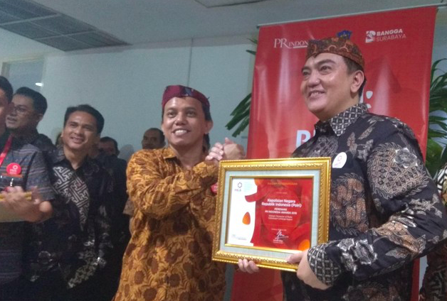Polri Raih Penghargaan Sebagai Lembaga Negara Terpopuler di Media Tahun 2017