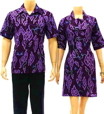 Baju Batik Modern Pria Wanita Couple Model Terbaru Ko Baju Batik