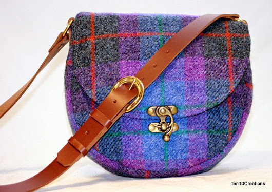 Harris Tweed Saddle Bags - Spring 2015 Collection #6