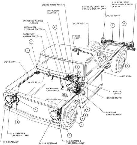 78 Ford Bronco Horn Wiring Diagram 1978 Ford Wiring